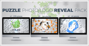 Puzzle Photo/Logo Reveal Pack