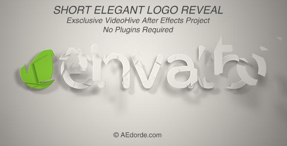 Short Elegant Logo Reveal