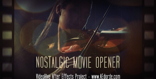 Nostalgic Movie Opener