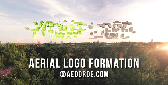 Aerial Logo Formation